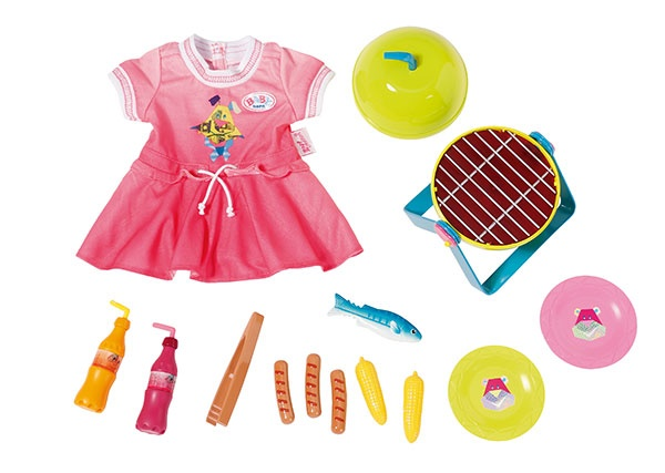 Zapf Creation Baby Born Play & Fun Grillspass Set