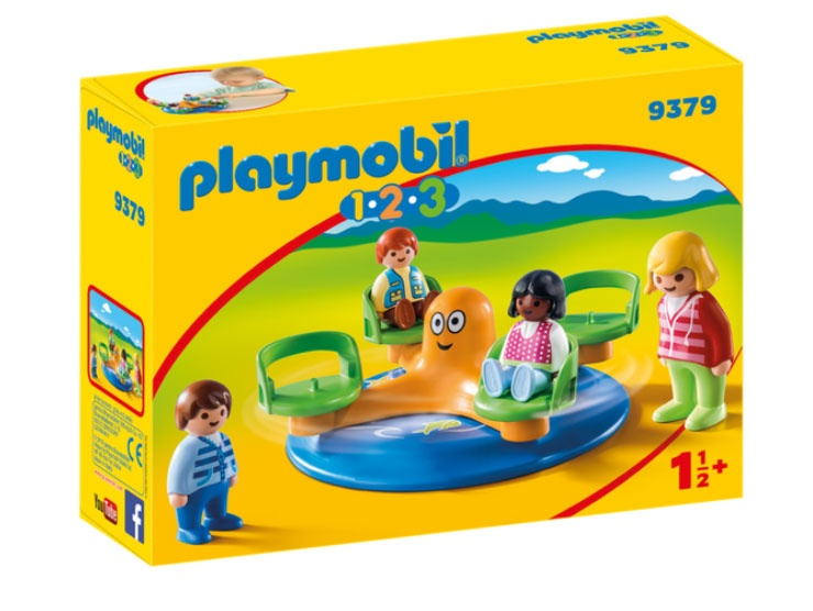 Playmobil 9379 1.2.3 Kinderkarussell
