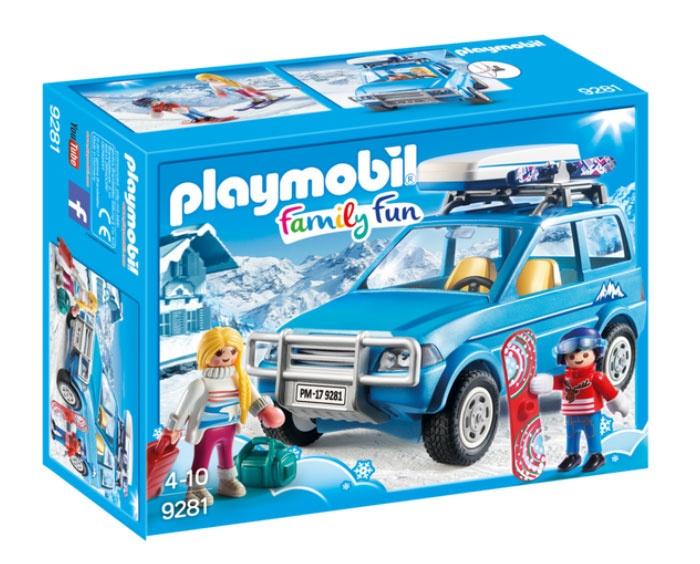 Playmobil 9281 Family Fun Auto mit Dachbox