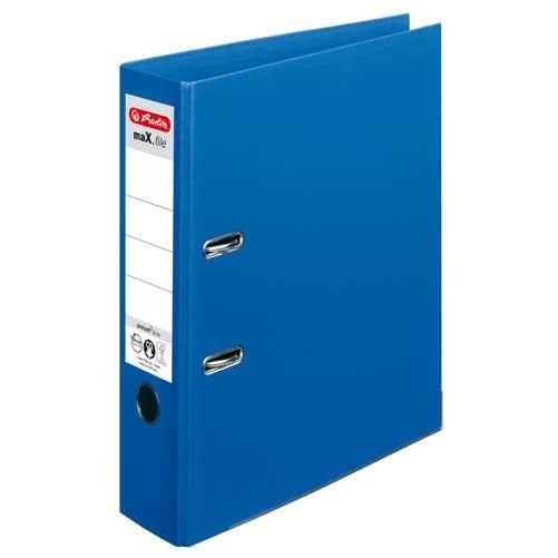 Ordner A4 max.file protect blau 8 cm von Herlitz