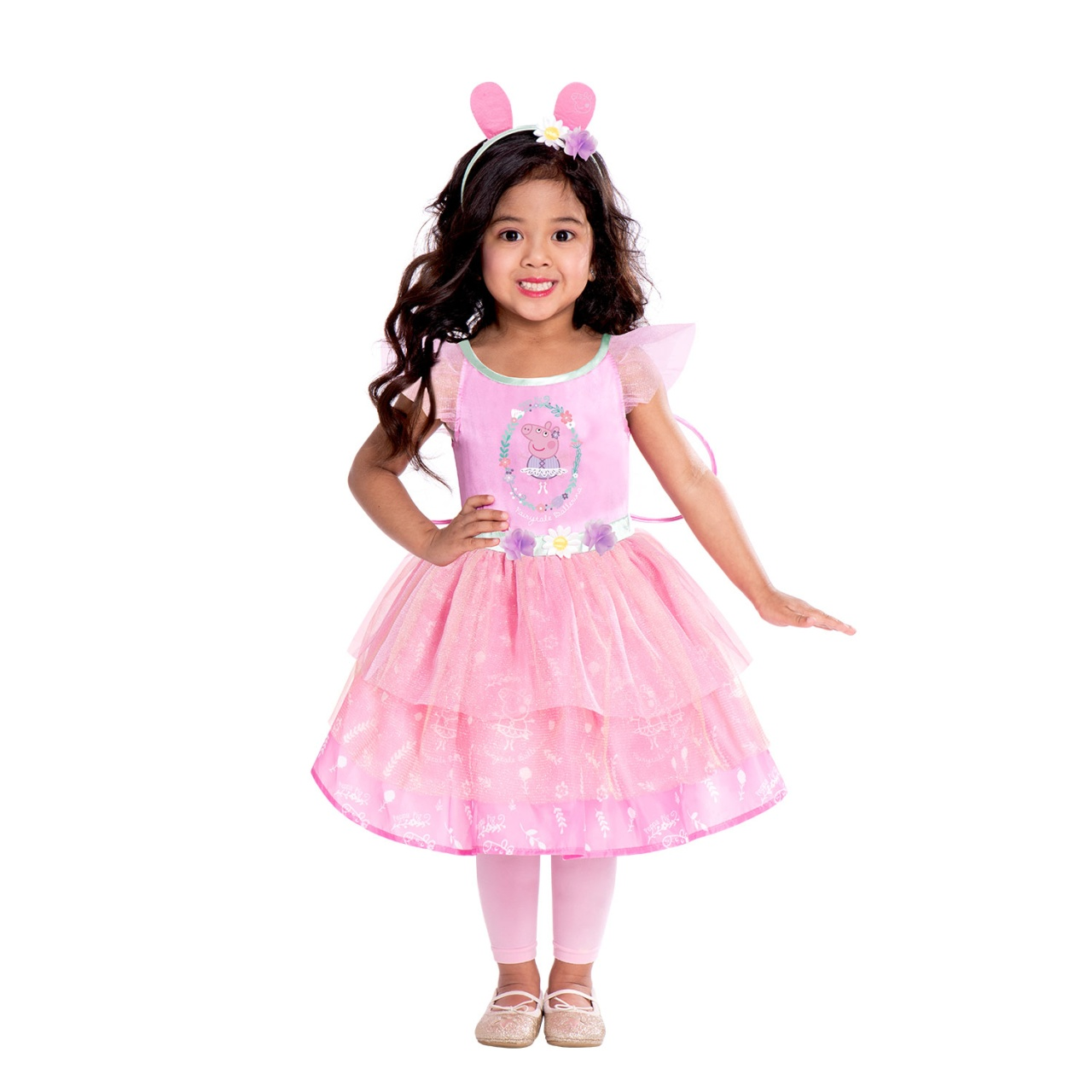Kostüm Peppa Wutz Fairy Dress 2 - 3 Jahre