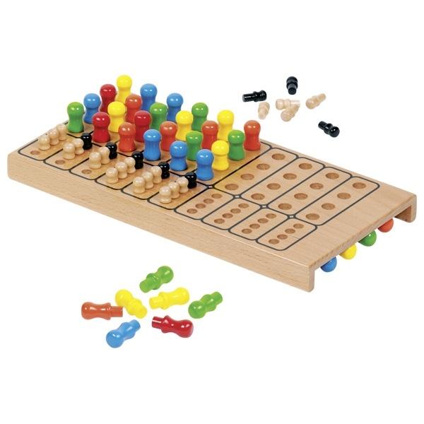 Master Logic Spiel aus Holz