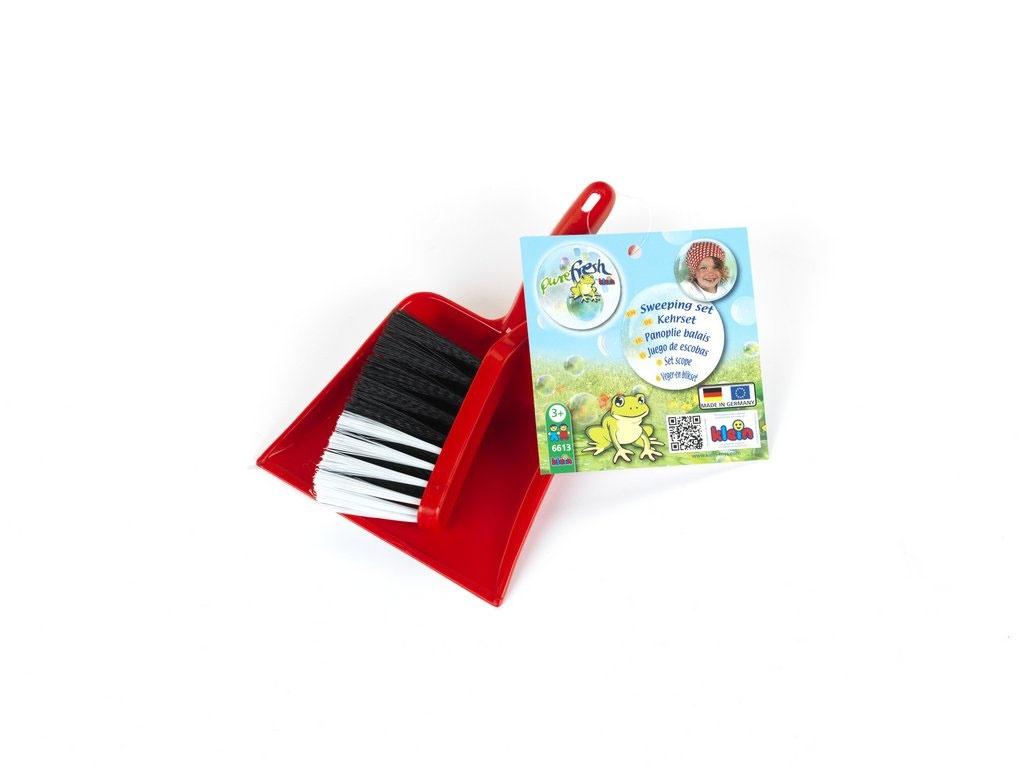 Kehrgarnitur für Kinder mit Handfeger und Schaufel