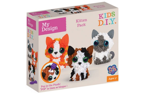 PlushCraft My Design 3D Minis Kitties Katzen
