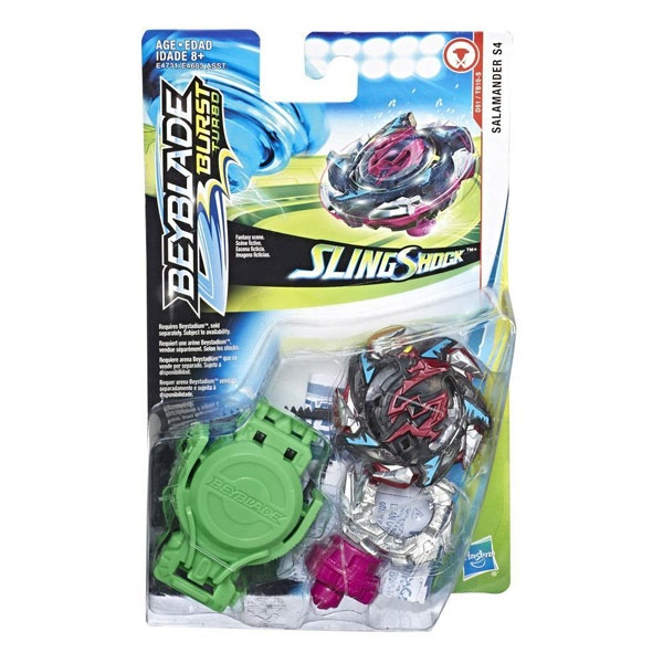 Beyblade Burst Turbo Starterpack Salamander S4