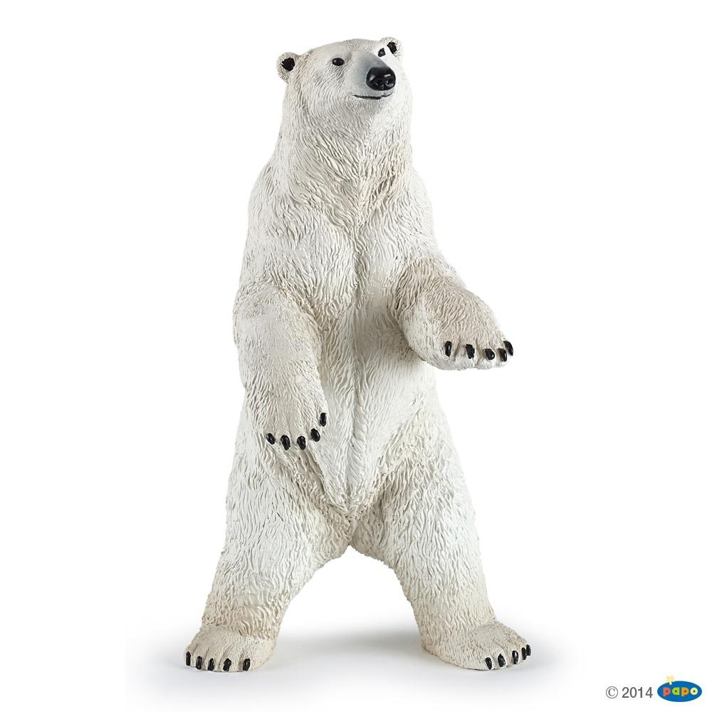 Papo 50172 Eisbär, stehend