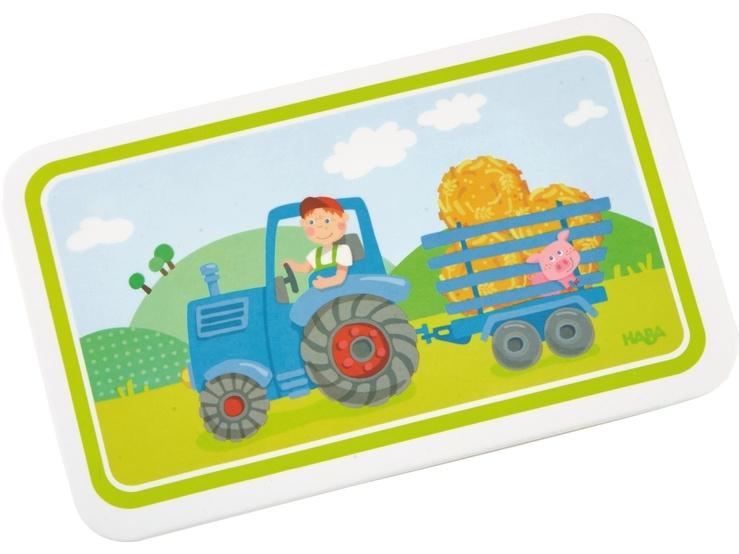 Haba Kinder-Brettchen Traktor