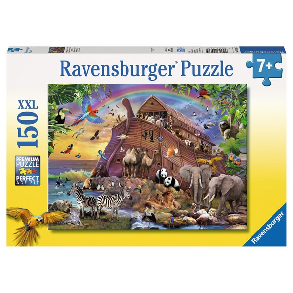 Ravensburger Puzzle Unterwegs mit der Arche 150 Teile XXL
