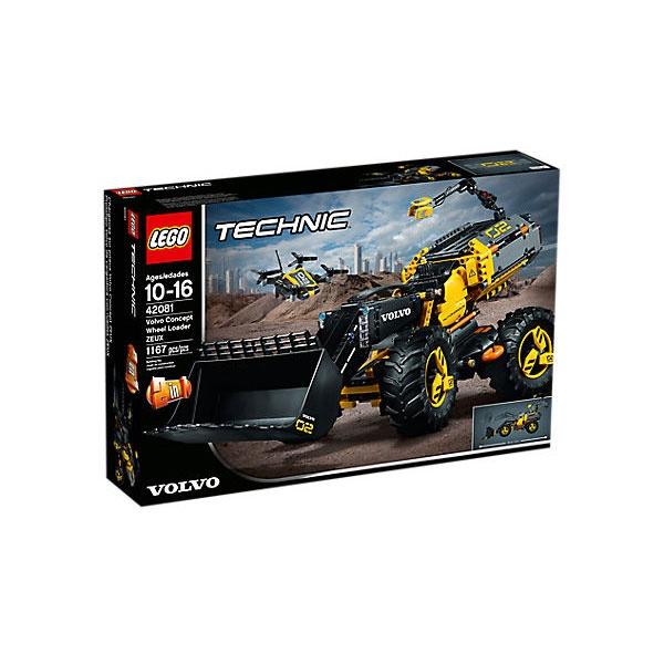 Lego Technic 42081 Volvo Konzept Radlader