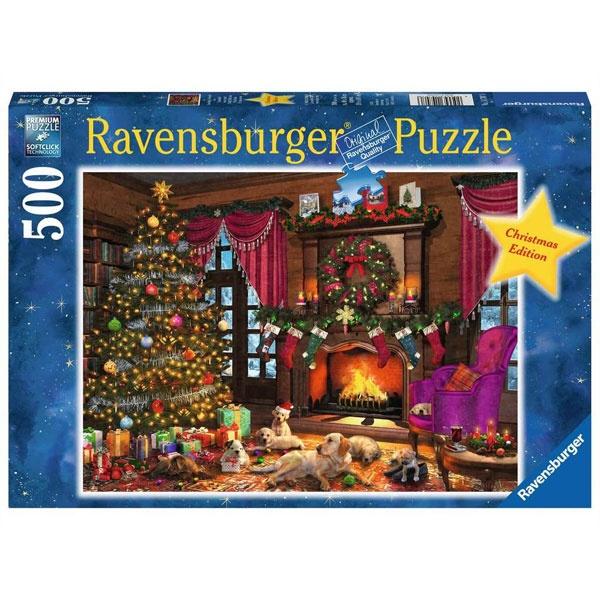 Ravensburger Puzzle Kuschelige Weihnachten 500 Teile