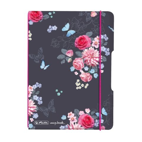 Herlitz Notizheft flex A6 Ladylike Flowers
