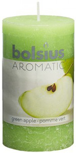 Bolsius Duft-Stumpenkerze Apfel