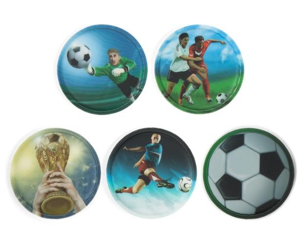 Ergobag Zubehör Klettie-Set Fußball 5 Teile