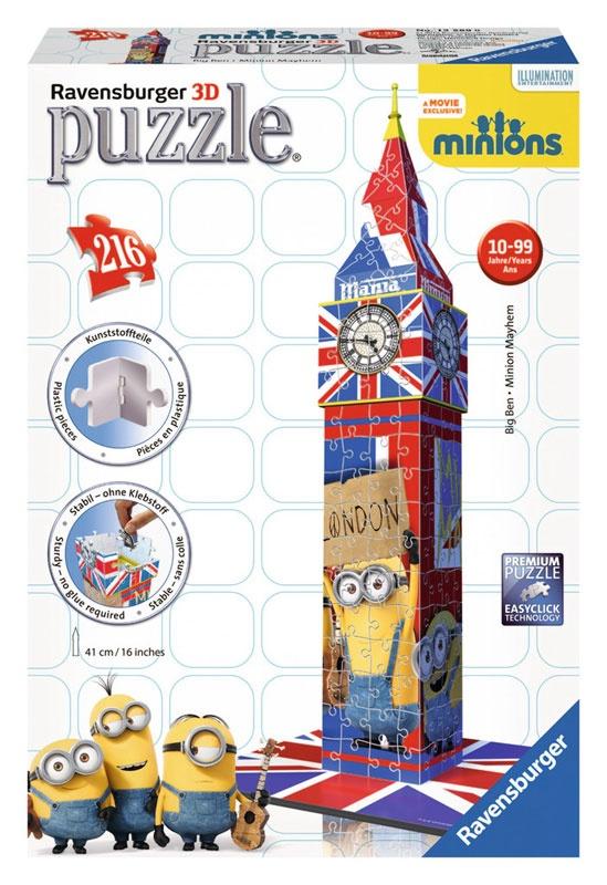 Ravensburger Puzzle 3D Big Ben Minions