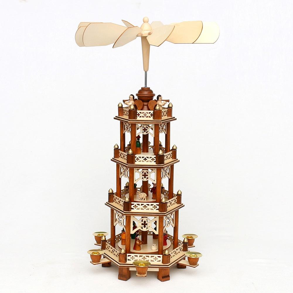 Weihnachtspyramide 4-stöckig