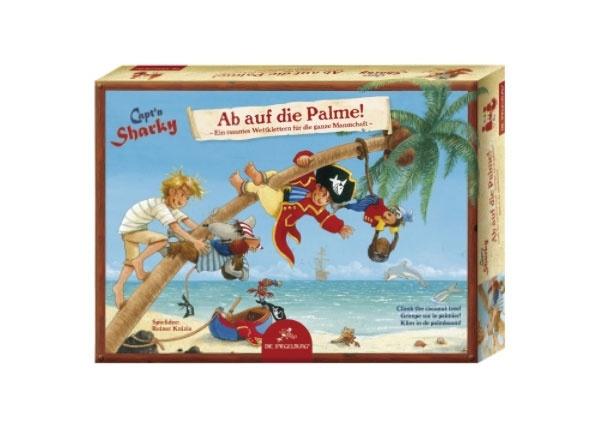Capt´n Sharky Gesellschaftsspiel: Ab auf die Palme