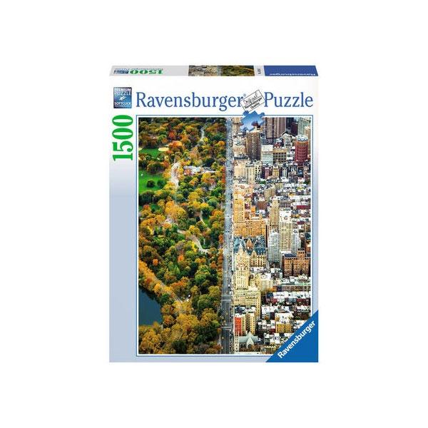 Puzzle Geteilte Stadt 1500 Teile