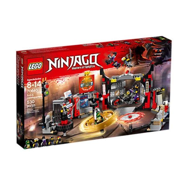 Lego Ninjago 70640 Hauptquartier der Motorradfahrer