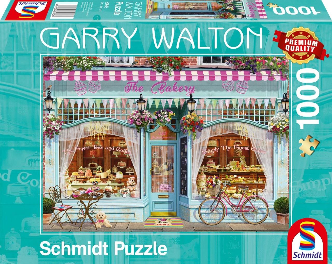 Schmidt Spiele Puzzle Garry Walton Bäckerei 1000 Teile