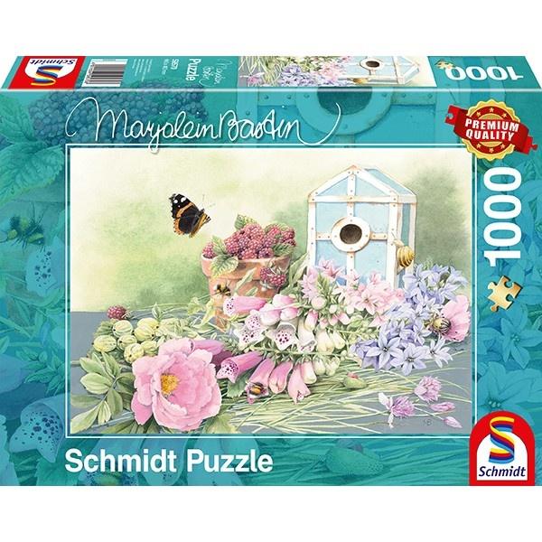 Schmidt Spiele Puzzle Marjolein Bastin Sommer Residenz 1000