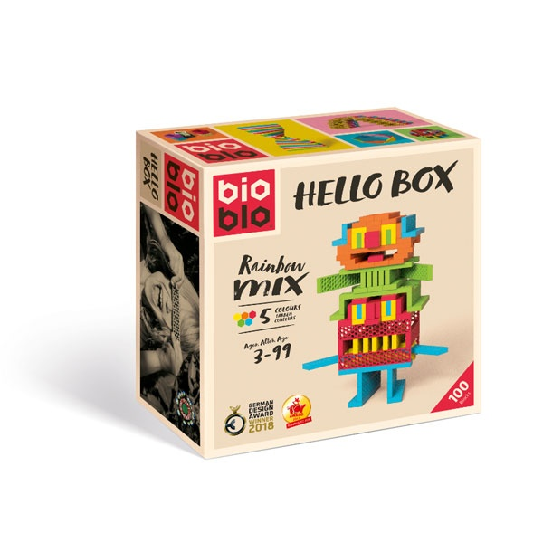 Bioblo Hello Box Rainbow Mix 5 Farben