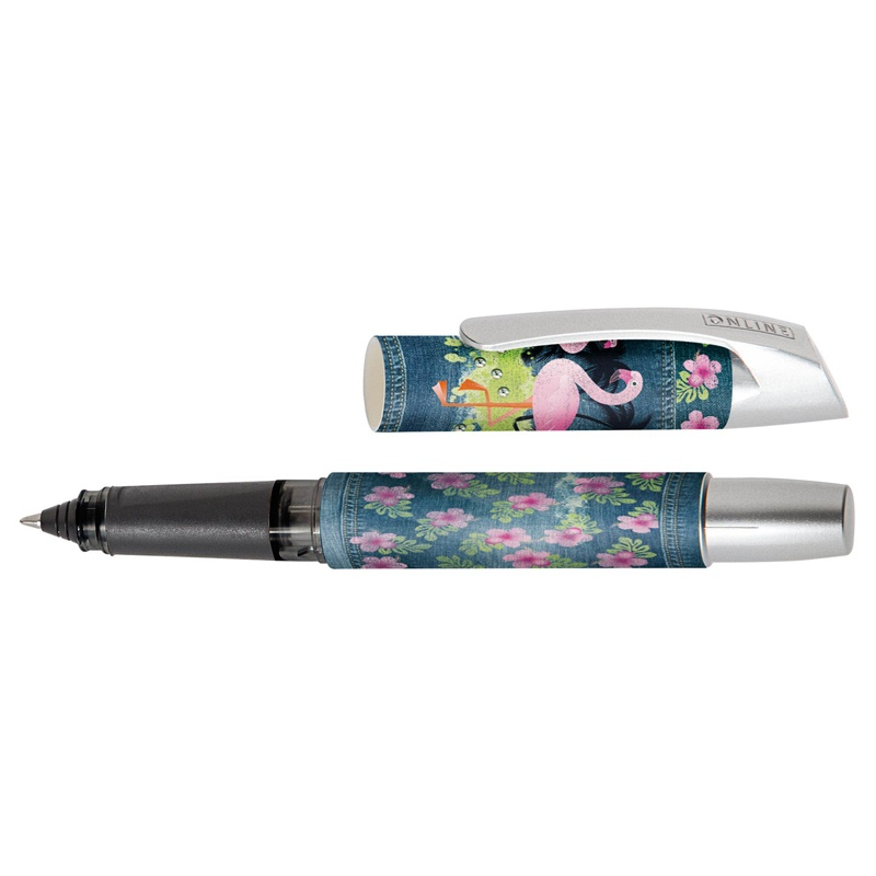 Online Rollerball Campus II Denim Flamingo