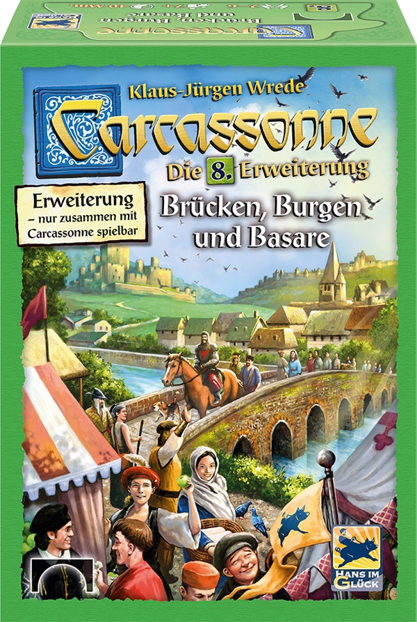 Carcassonne Brücken, Burgen und Basare  8.Erw.