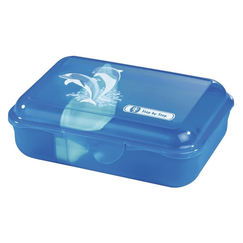 Step by Step Happy Dolphins Lunchbox