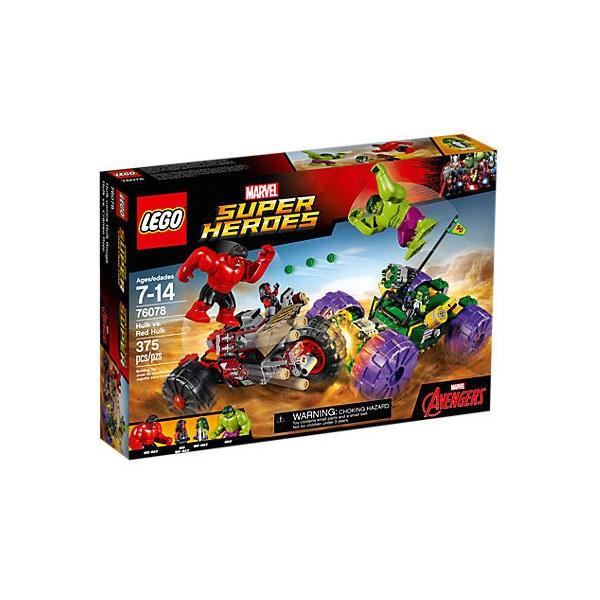 Lego 76078 Hulk gegen Red Hulk