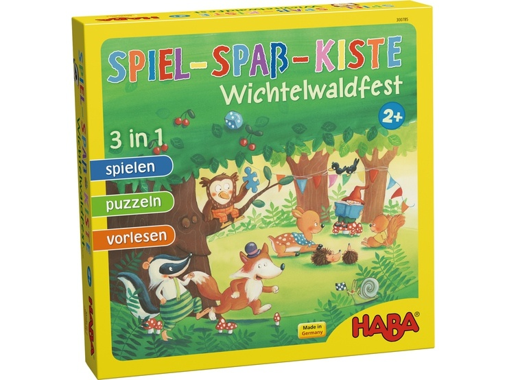Haba Spiel-Spaß-Kiste