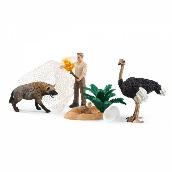 Schleich Wild Life Angriff der Hyäne 42504