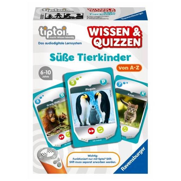 tiptoi Wissen & Quizzen: Süße Tierkinder von Ravensburger