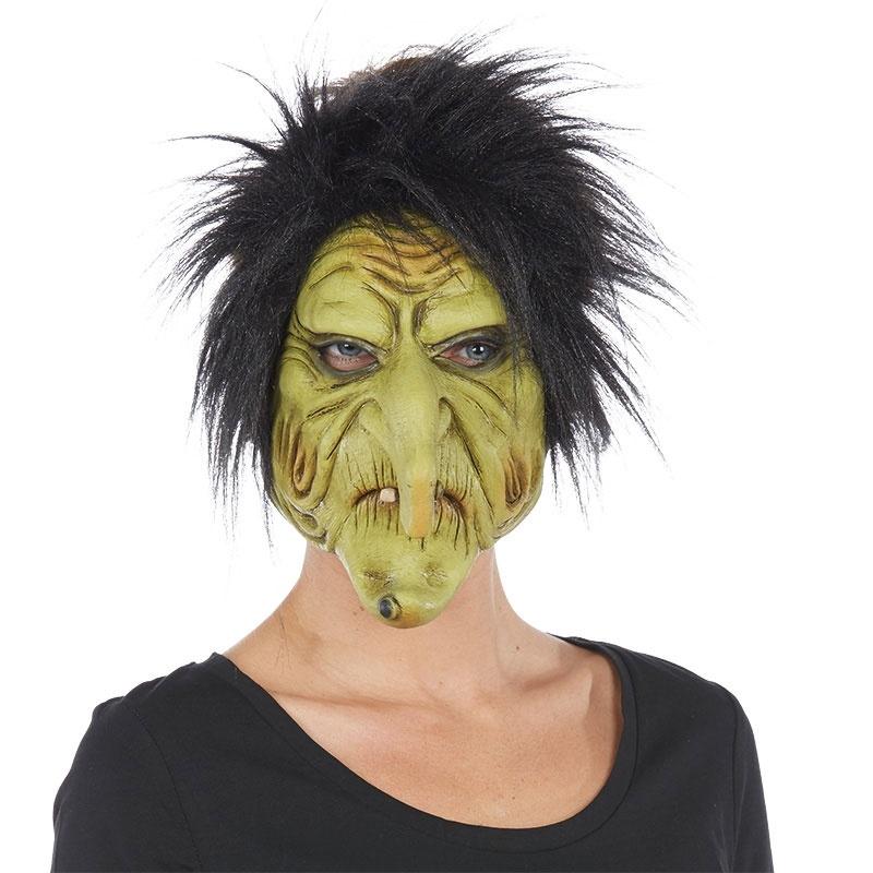 Maske Schrumpelhexe