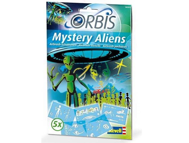 Revell 30203 Schablonen-Set Mystery Aliens