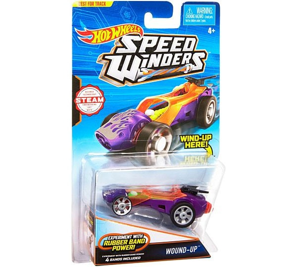 Hot Wheels Speed Winders CarTrack Wound-Up