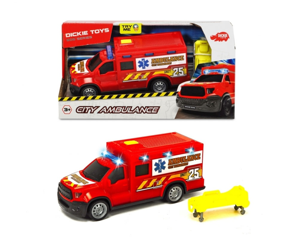 City Ambulance Krankenwagen