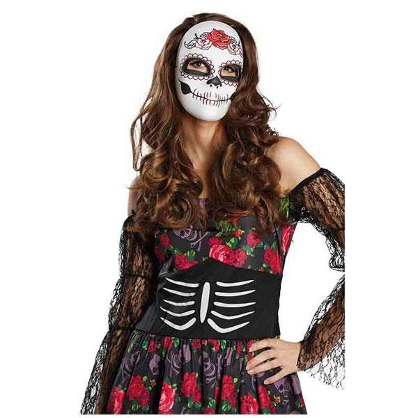 Kostüm-Zubehör La Catrina Maske
