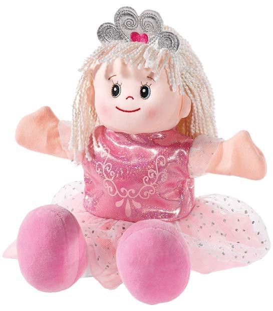 Handpuppe Poupetta Prinzessin pink
