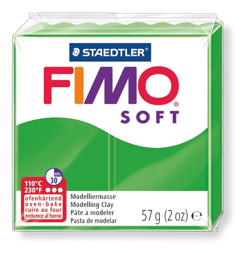 Staedtler Modelliermasse Fimo soft tropischgrün 57 g