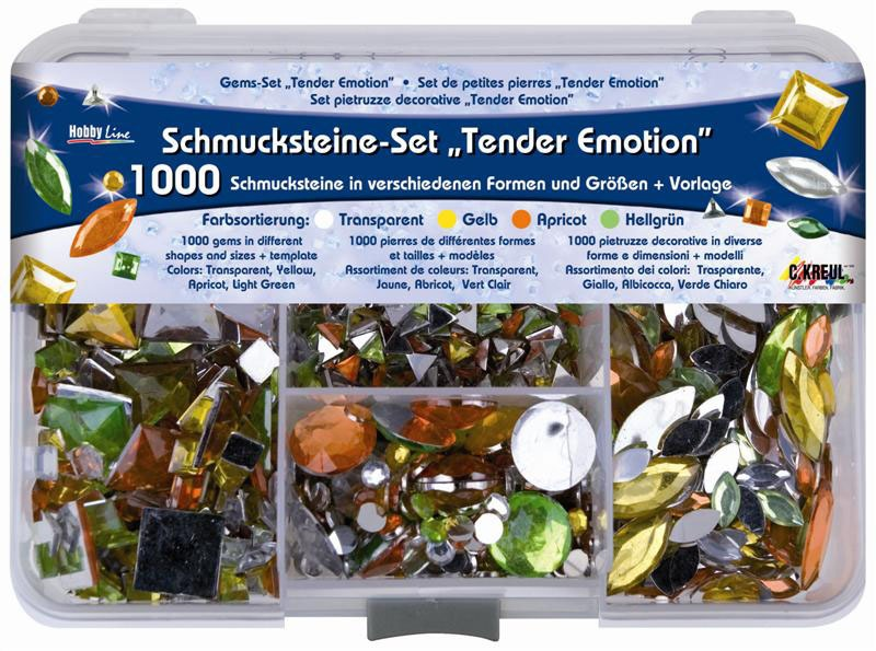 Hobby Line Schmucksteine-Set Tender Emotion