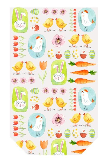 Klarsichtbeutel Bunny & Chicken 10 Stück