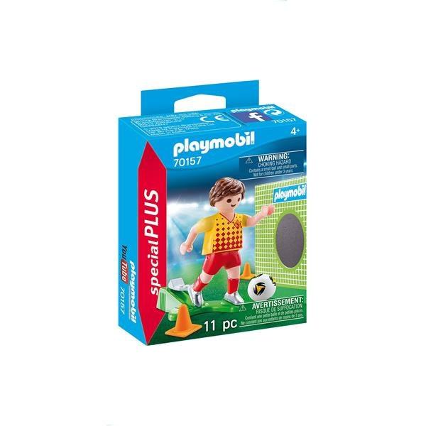 Playmobil 70157 Fussballspieler mit Torwand