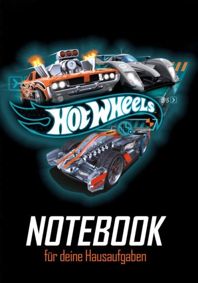 Hausaufgabenheft Hot Wheels Action Race