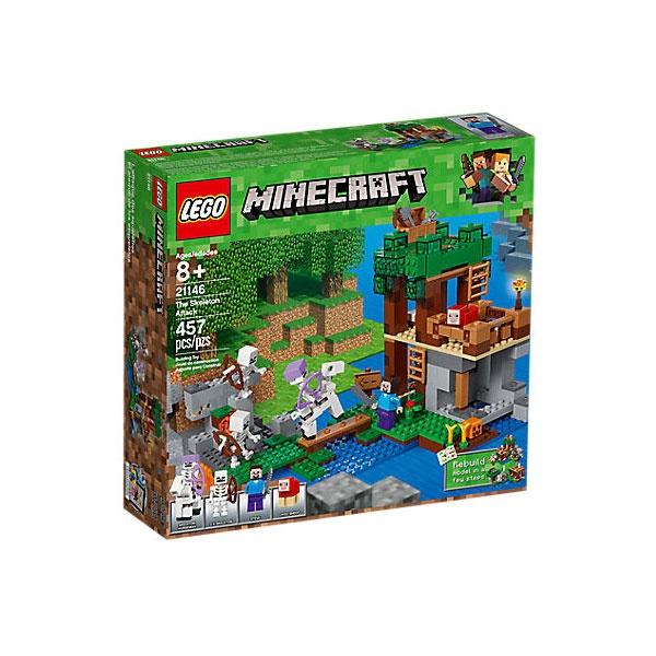 Lego Minecraft 21146 Die Skelette kommen!