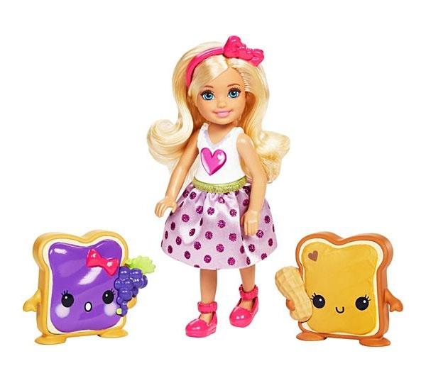Barbie Chelsea und 2 Keksfreunde