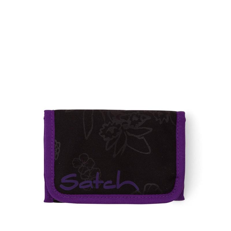 Ergobag Satch Zubehör Geldbeutel Purple Hibiscus