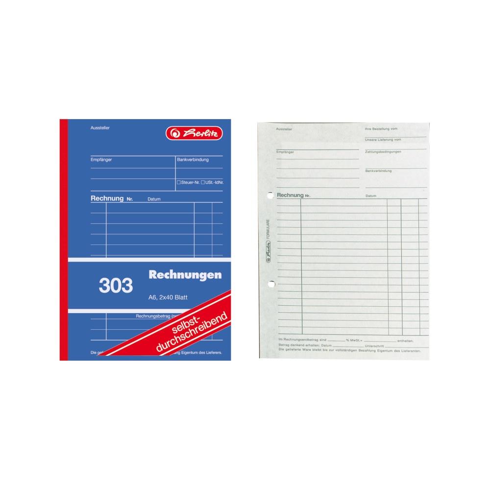 Rechnungsbuch A6
