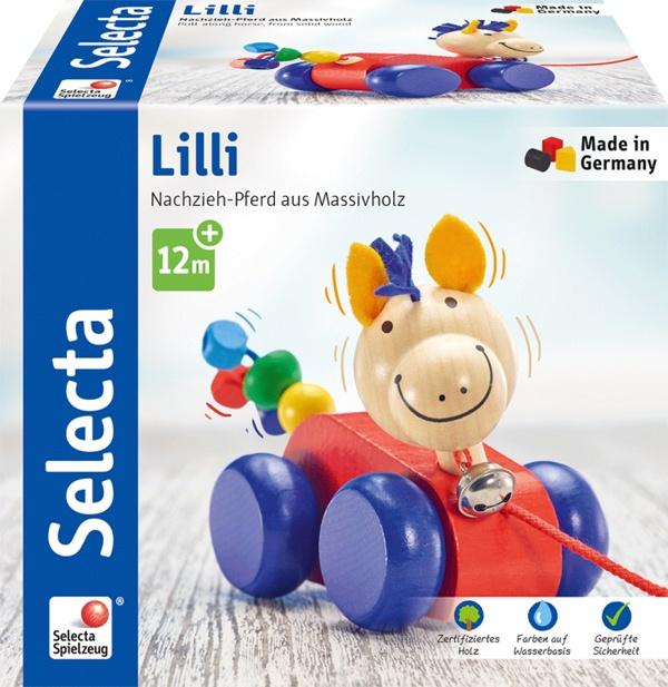 Selecta Lilli Nachzieh Pferd 12 cm