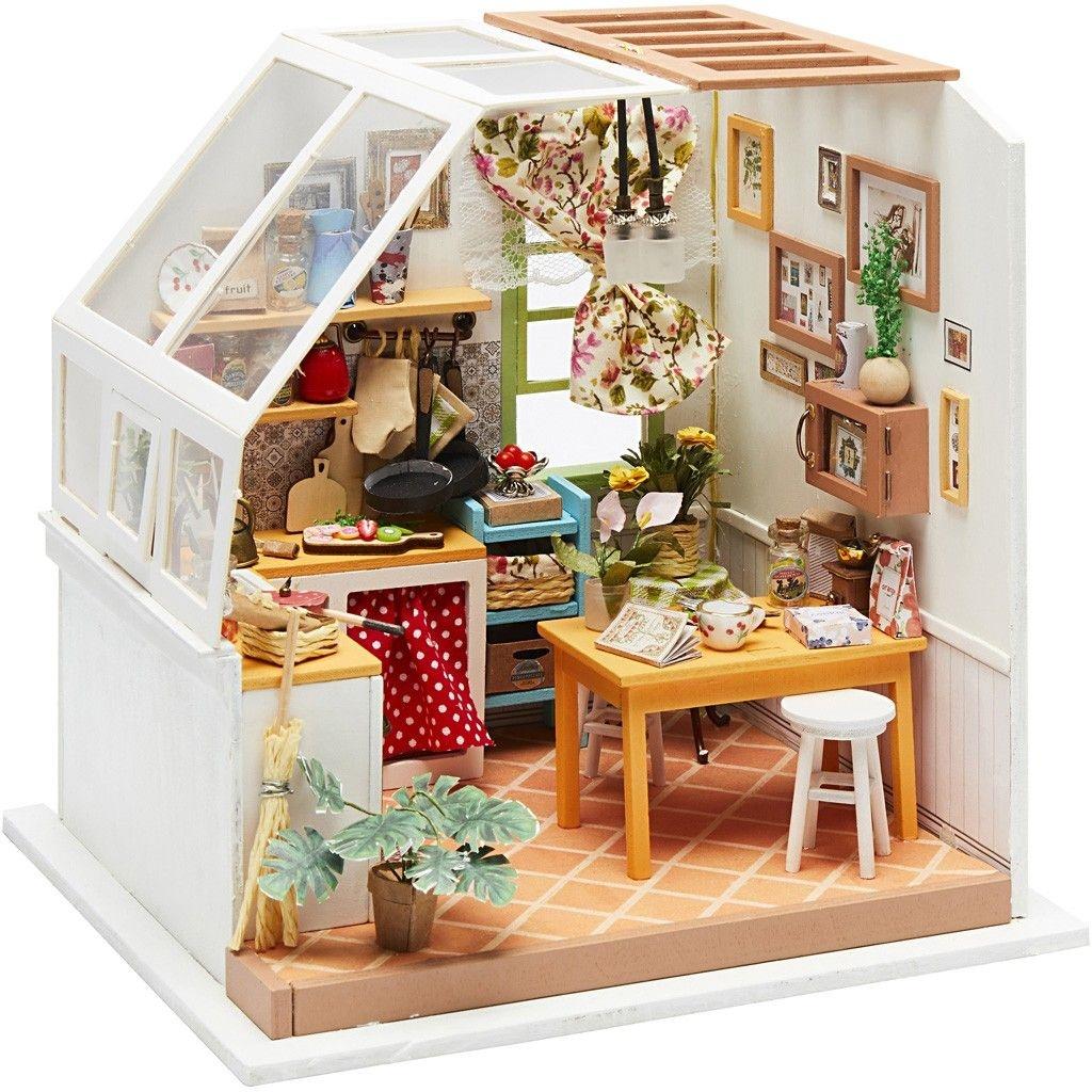 DIY Miniatur Zimmer Küche