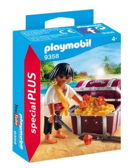 Playmobil 9358 SpecialPlus Pirat mit Schatzkiste
